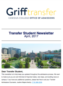 Transfer Newsletter Graphic